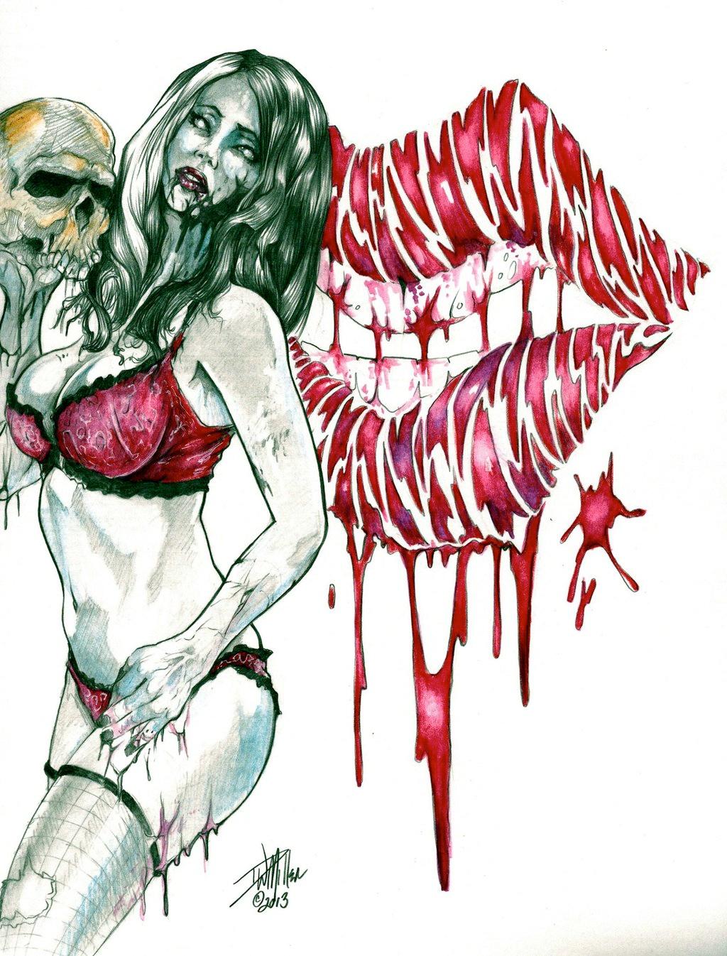 Zombie Tramp - D.W. Miller