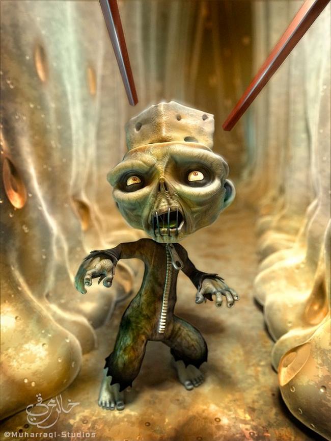 Zombie - Khalid Al-Muharraqi