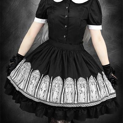 Gothic Lolita Skirt