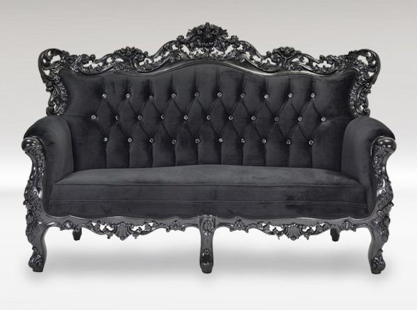 Merveilleux Belle De Fleur French Love Seat