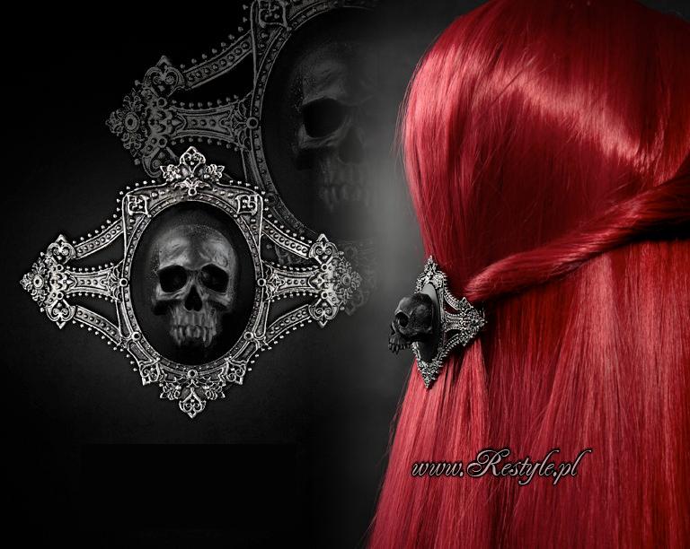 Vampire Skull Hairclip
